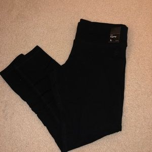 NWT NY & Co Black Leggings